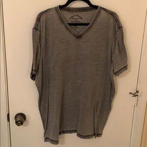 Lucky Brand Dark Gray Shirt - XXL